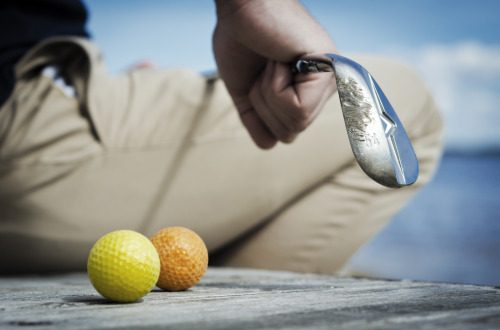 Street golf, urban golf