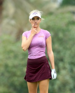 Omega Dubai Ladies Masters paige spinarac