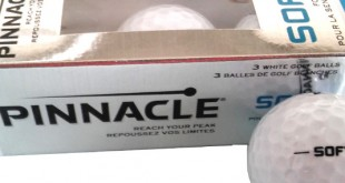 Test and Review Pinnacle Soft Golf balls