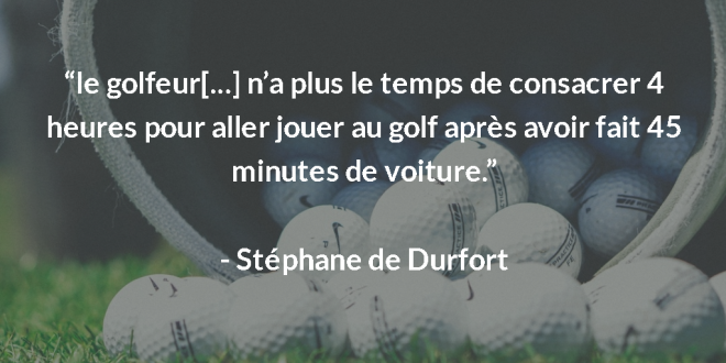 Interview directeur de golf