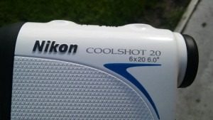 Vue côté télémètre Nikon Coolshot