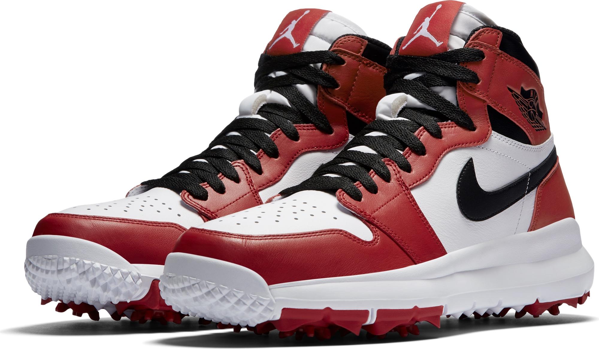 les air jordan golf les nouvelles chaussures montantes de nike bogeymag blog golf. Black Bedroom Furniture Sets. Home Design Ideas