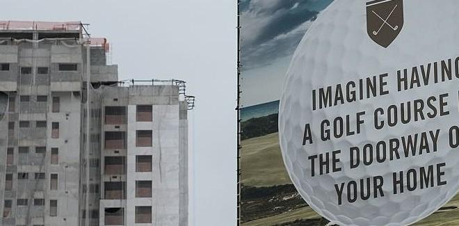 le parcours de golf à Rio a fermé