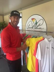 Graham deLaet est prêt à rendre hommage à Arnold Palmer