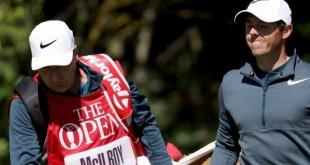 The Open : Le déclic de Rory McIlroy après le discours de son caddie
