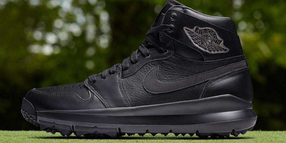 Nike Ses Habille Air Chaussures Premium De 1 Montantes Jordan Noir tsQdCBhrx