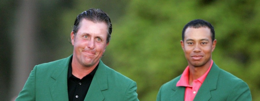 The masters Tiger woods Phil Mickelson