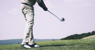 Jouer looker au golf