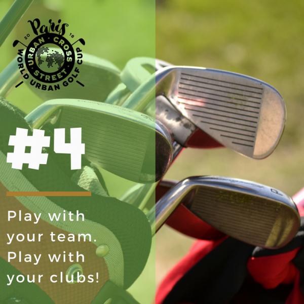 Jouer avec votre équipe et avec vos clubs