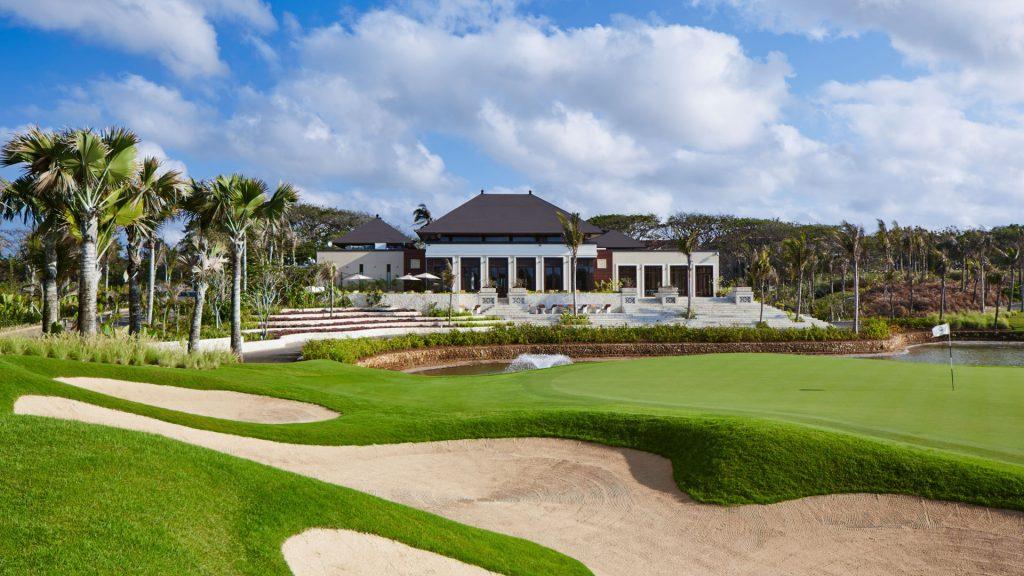 Club house of the Bali National Golf Club