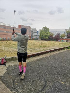 Urban golf pantin swing