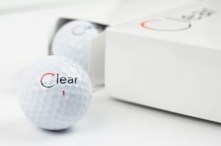 Clear la balle de golf ultra luxe