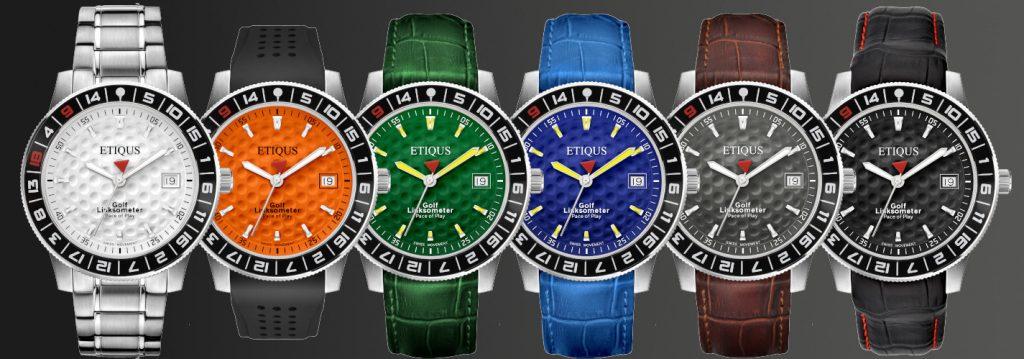 montres golf Etiqus