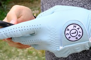 MajorAce golf gant en cuir