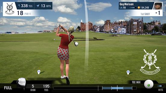 jeu vidéo de golf
