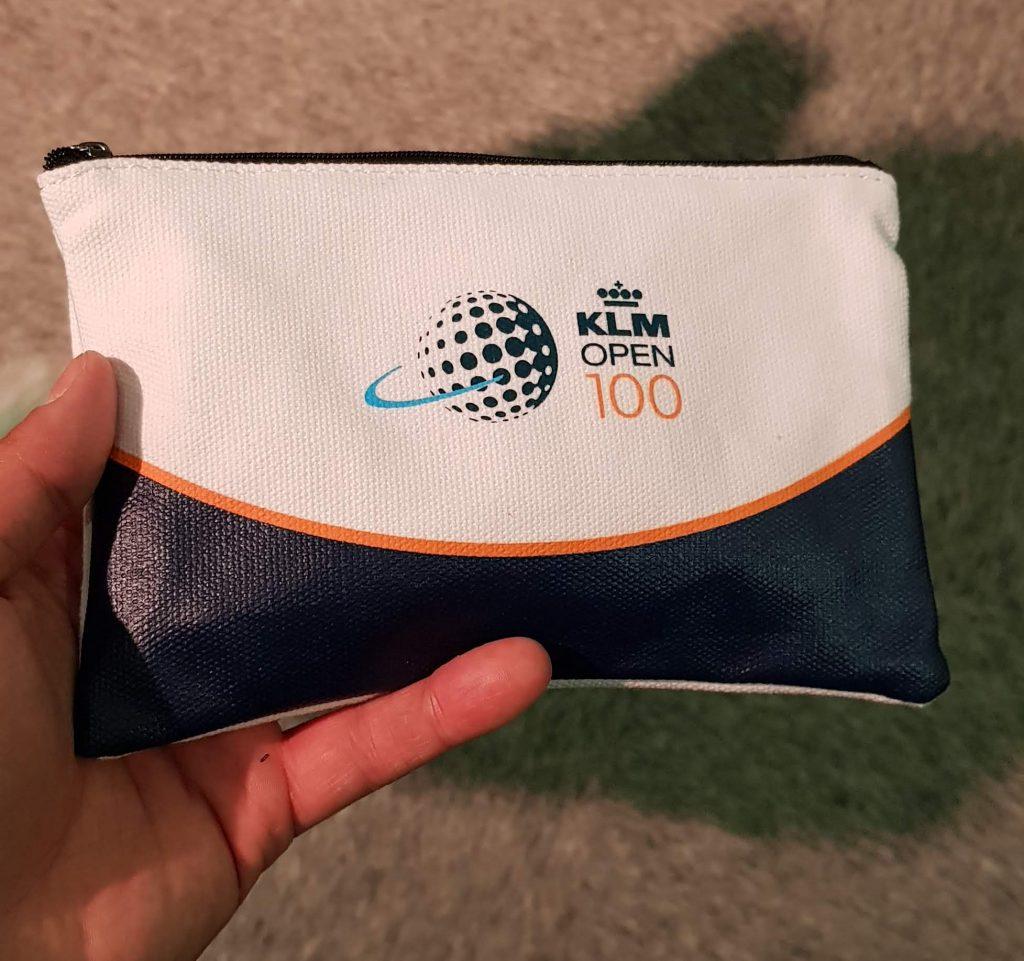 Une pochette à tee KLM Open