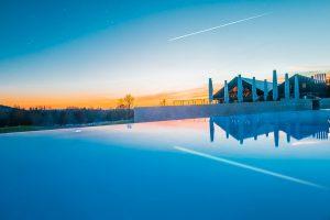piscine golf resort
