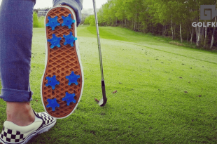convert your sneakers into golf shoes