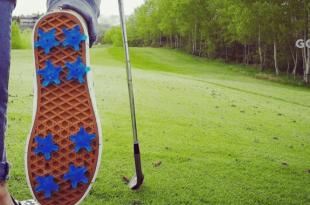 transformer ses sneakers en chaussures de golf