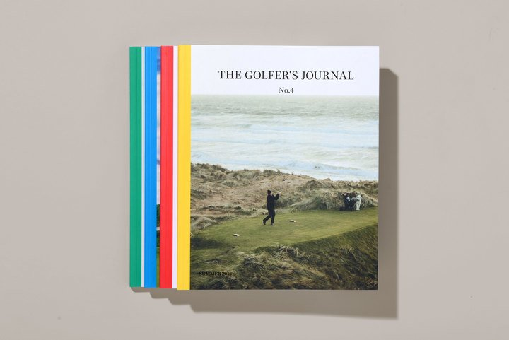 The Golfer's Journal couverture magazine