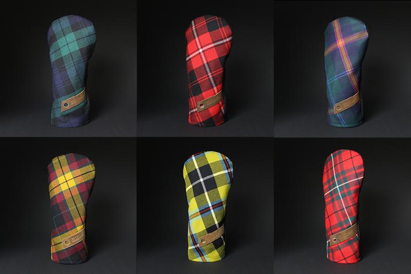 couvre-bois tartan