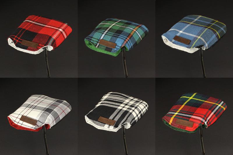 couvre putter tartan