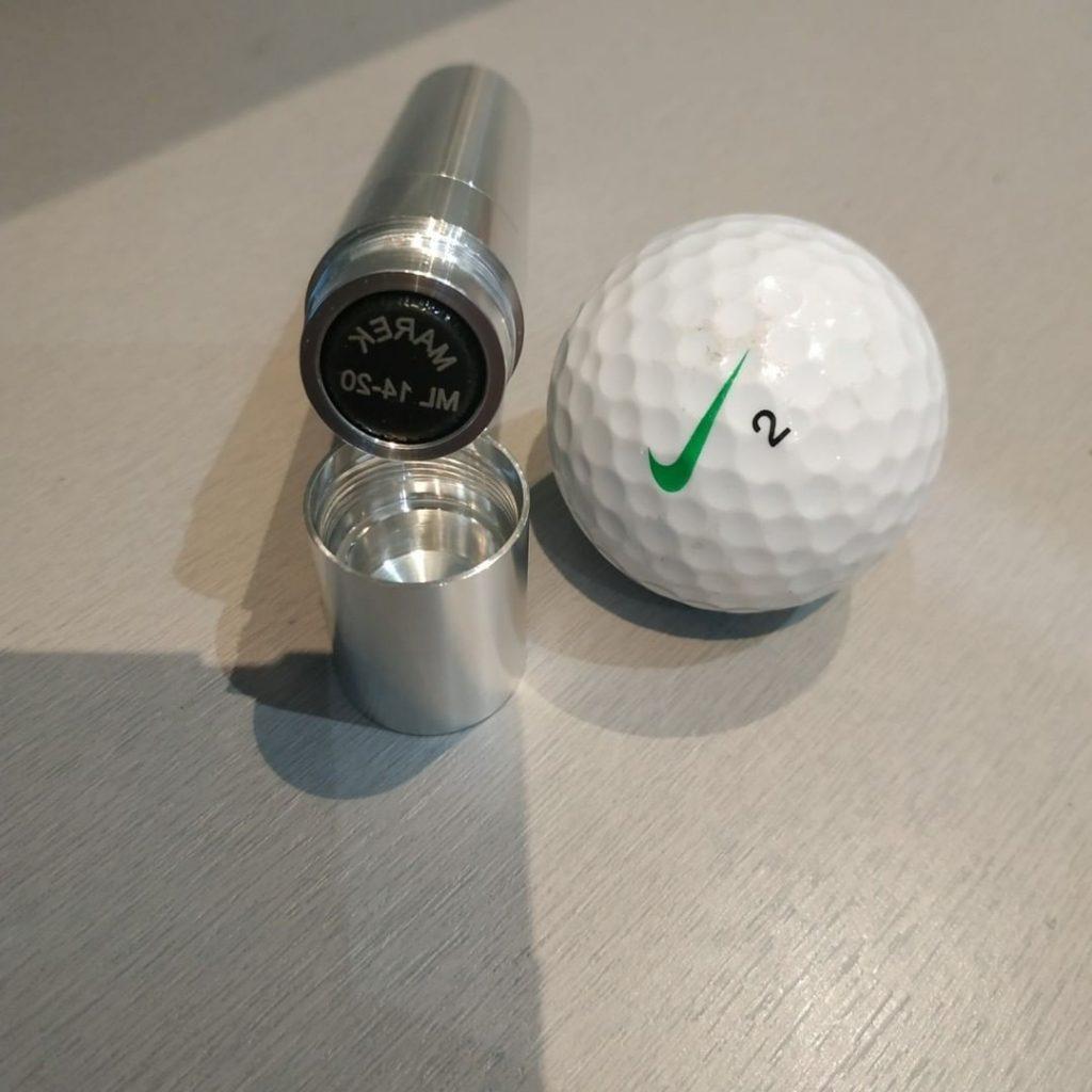 tampon de personnalisation balle de golf