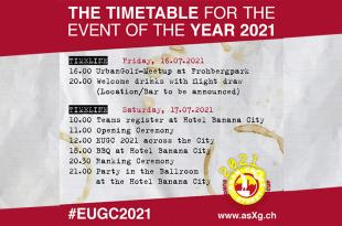 l'agenda et programme de l'EUGC 2021