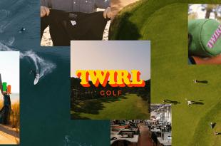 twirl golf neoprene couvre bois
