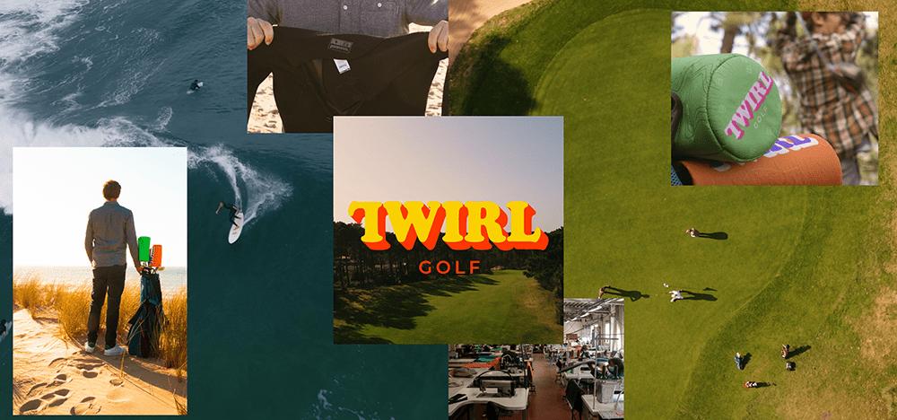 twirl golf neoprene headcover